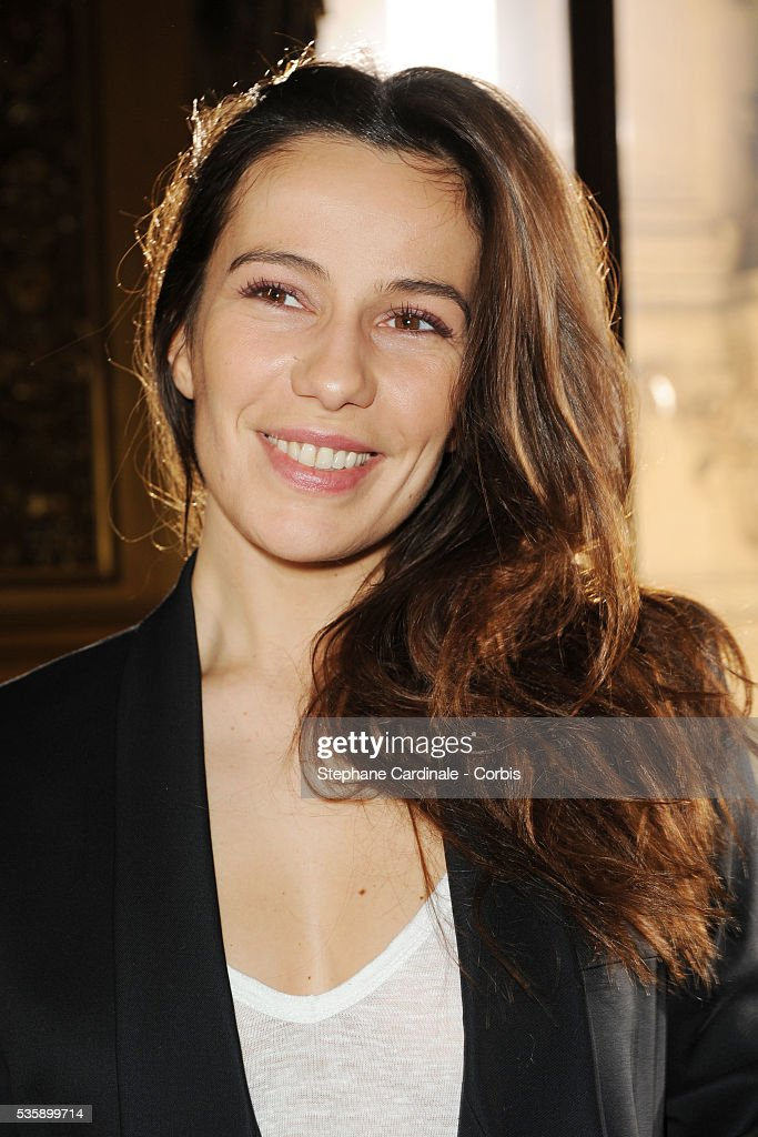 Zoe Felix attends the Stella McCartney Ready To Wear show, as part of the Paris Fashion Week Fall/Winter 2010-2011.