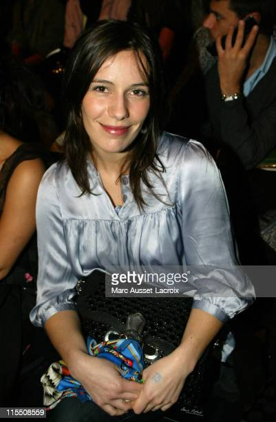 Zoe Felix during Paris Fashion Week Fall/Winter 2007 Sonia Rykiel Front Row at Jardin des Tuilerie in Paris France