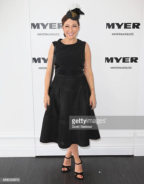 Zoe Foster attends the Myer Marquee on Derby Day at Flemington Racecourse on November 1 2014 in Melbourne Australia