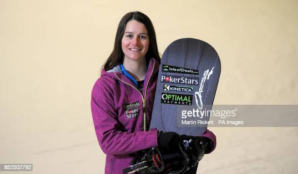 Zoe Gillings poses for a photo during the photocall at Xscape Castleford