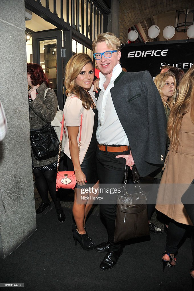 Zoe Hardman and Henry Conway attend the Casio London Store 1st birthday party on May 8, 2013 in London, England.