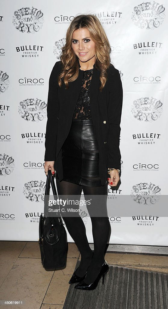 Zoe Hardman arrives for the 'Steam and Rye' Restaurant launch party on November 19, 2013 in London, England.