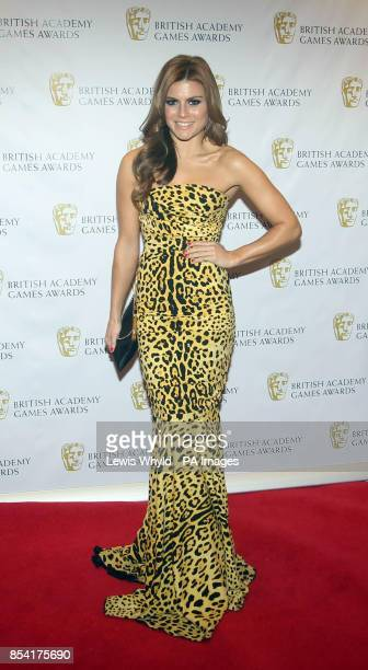 Zoe Hardman attending the British Academy Video Games Awards at the London Hilton Park Lane London