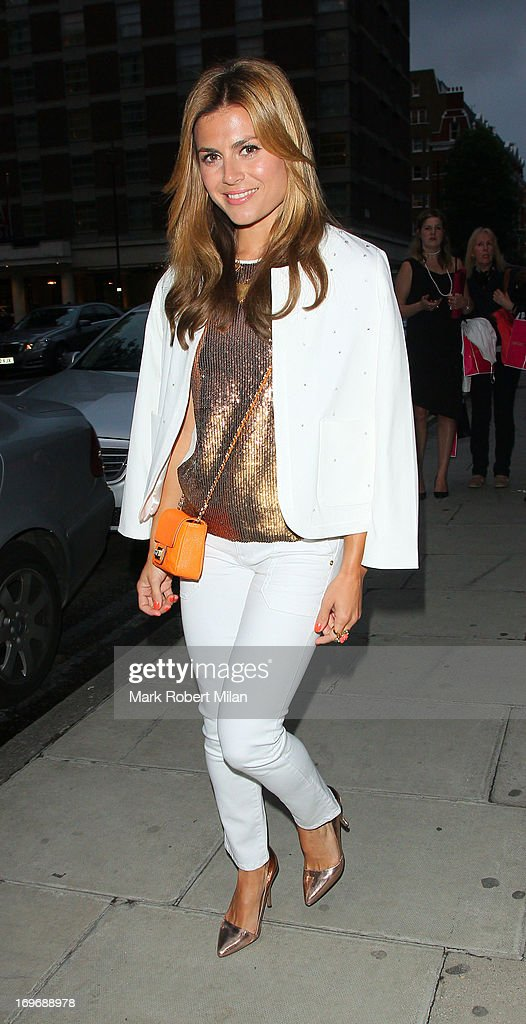 <a gi-track='captionPersonalityLinkClicked' href=/galleries/search?phrase=Zoe+Hardman&family=editorial&specificpeople=2278465 ng-click='$event.stopPropagation()'>Zoe Hardman</a> attending the Juicy Couture party at Home House on May 30, 2013 in London, England.