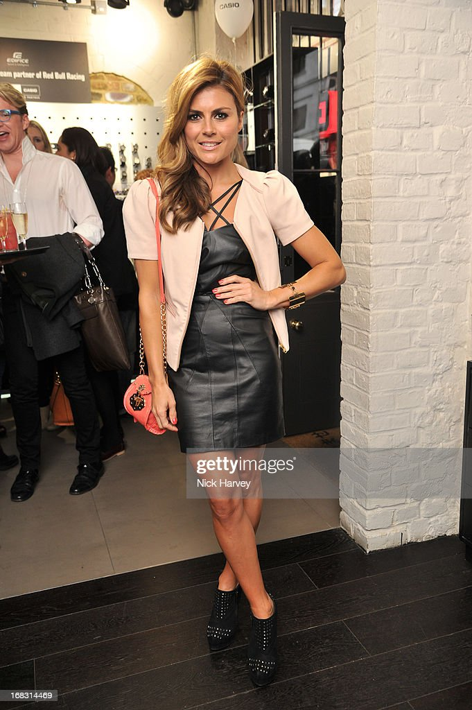 Zoe Hardman attends the Casio London Store 1st birthday party on May 8, 2013 in London, England.