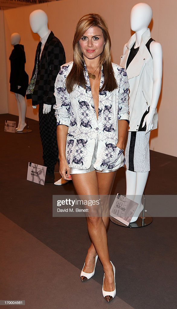 Zoe Hardman attends the gala awards show for Graduate Fashion Week 2013 at Earls Court 2 on June 5, 2013 in London, England.