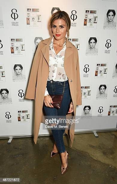 Zoe Hardman attends the launch of 'Made A Book of Style Food and Fitness' by Millie Mackintosh at Carousel London on September 7 2015 in London...