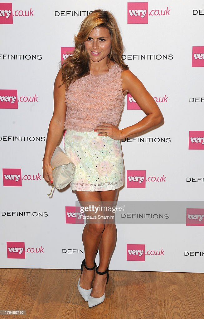 Zoe Hardman attends the launch party of very.co.uk's Definitions range at Somerset House on September 4, 2013 in London, England.