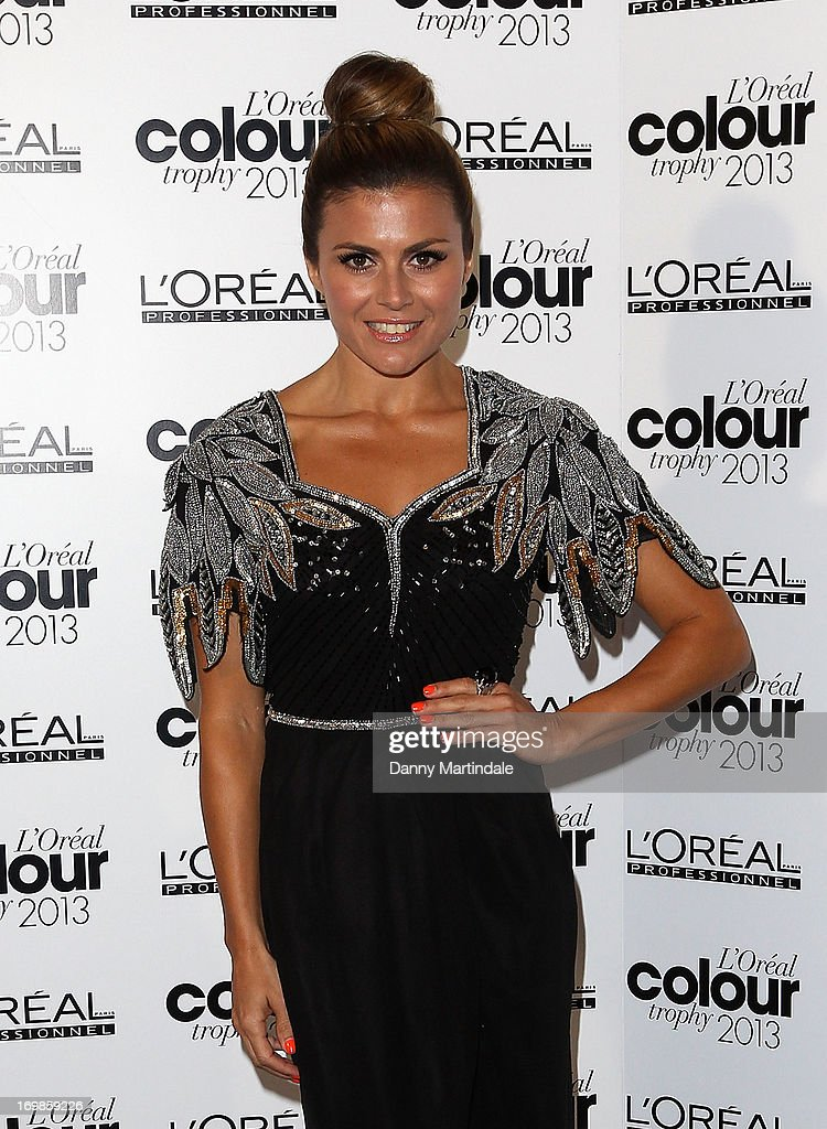 Zoe Hardman attends the L'Oreal Colour Trophy Awards 2013 at Grosvenor House, on June 3, 2013 in London, England.