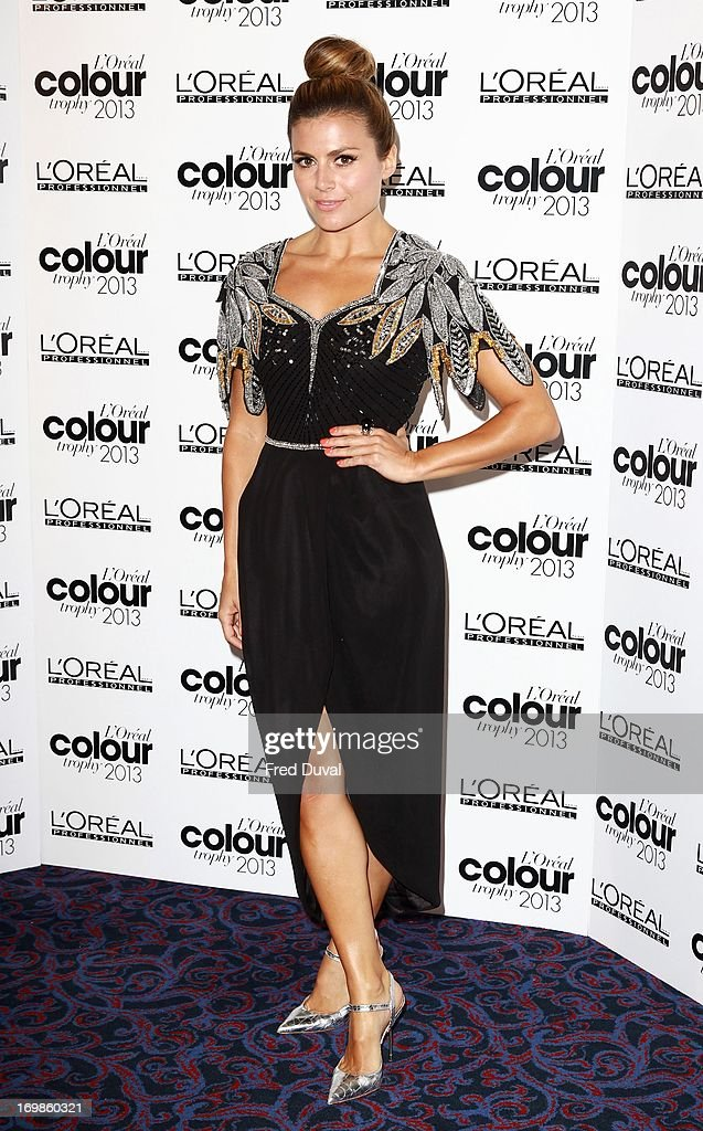 Zoe Hardman attends the L'Oreal Colour Trophy Awards at Grosvenor House, on June 3, 2013 in London, England.