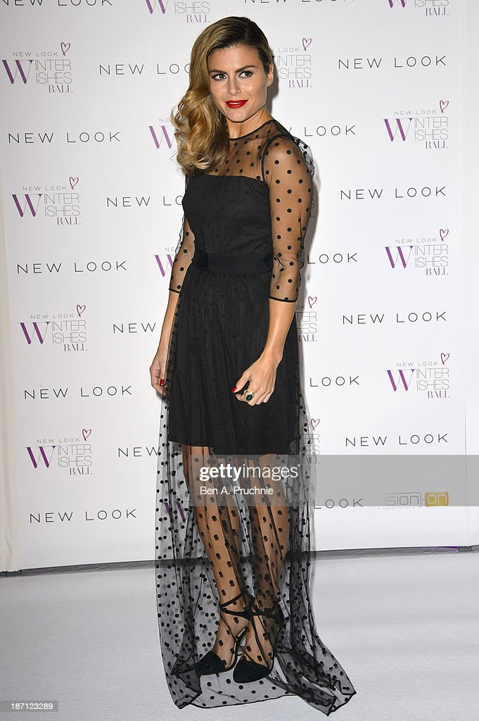 <a gi-track='captionPersonalityLinkClicked' href=/galleries/search?phrase=Zoe+Hardman&family=editorial&specificpeople=2278465 ng-click='$event.stopPropagation()'>Zoe Hardman</a> attends the New Look Winter Wishes Charity Ball at Battersea Evolution on November 6, 2013 in London, England.