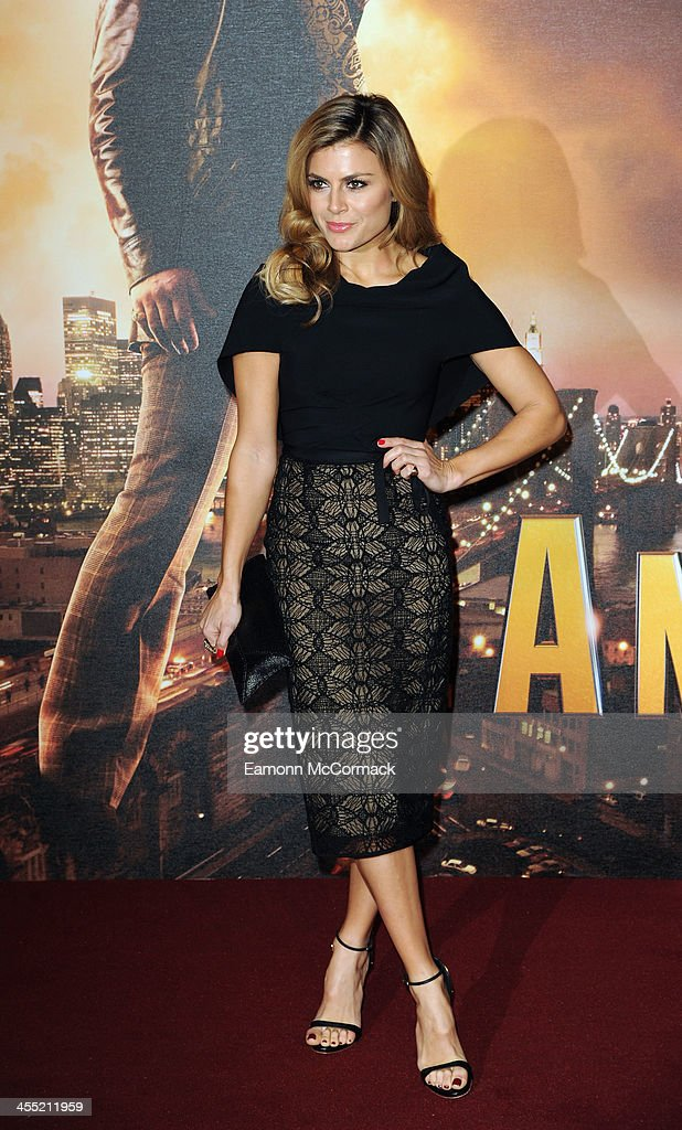 <a gi-track='captionPersonalityLinkClicked' href=/galleries/search?phrase=Zoe+Hardman&family=editorial&specificpeople=2278465 ng-click='$event.stopPropagation()'>Zoe Hardman</a> attends the UK premiere of 'Anchorman 2: The Legend Continues' at Vue West End on December 11, 2013 in London, England.