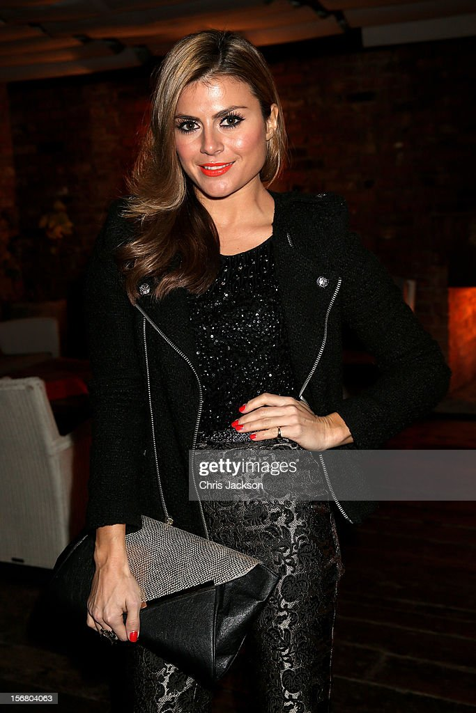 Zoe Hardman attends the Vodafone Fashionable Pub Quiz at Shoreditch House on November 21, 2012 in London, United Kingdom. As Principal Sponsor of London Fashion Week, the quiz celebrated Vodafone's commitment to British Fashion.