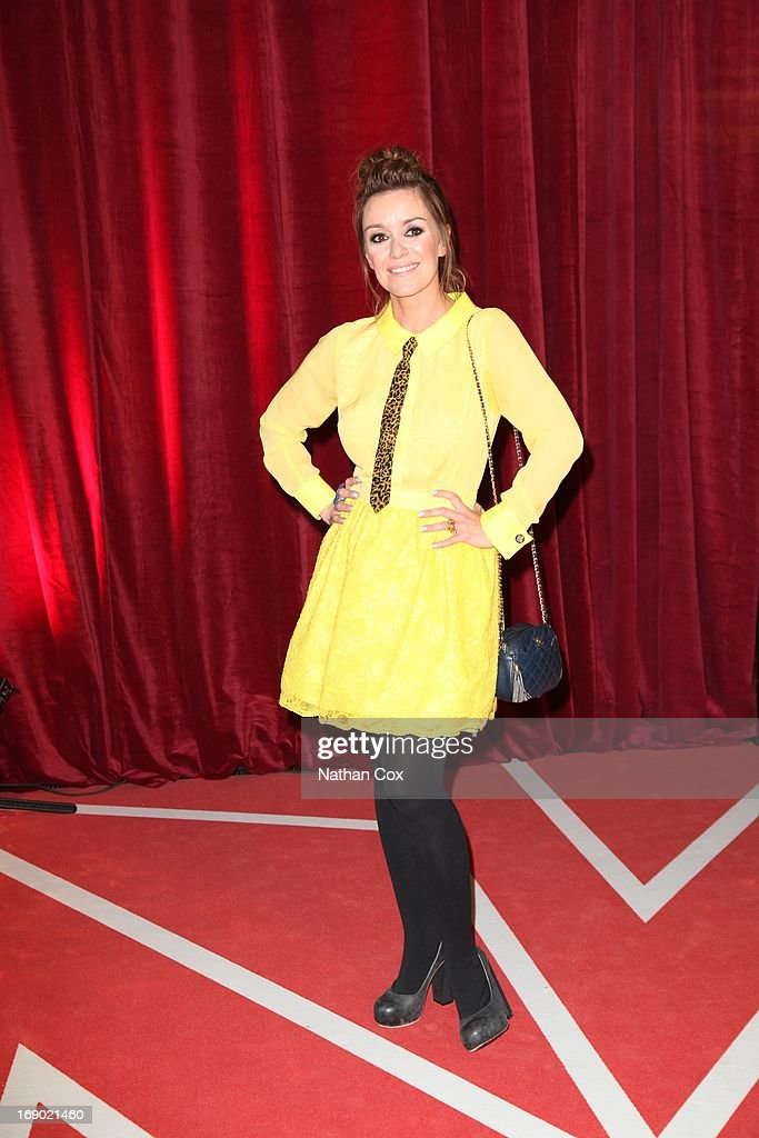 Zoe Henry arrives at the British Soap Awards 2013 Red Carpet arrivals at Media City on May 18, 2013 in Manchester, England.