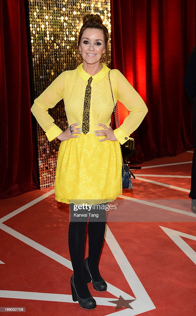 Zoe Henry attends the British Soap Awards at Media City on May 18, 2013 in Manchester, England.