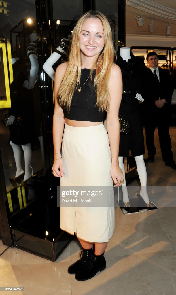 Zoe Jervoise attends the BAFTA 'Breakthrough Brits' event at Burberry 121 Regent Street, London on October 21, 2013 in London, United Kingdom.