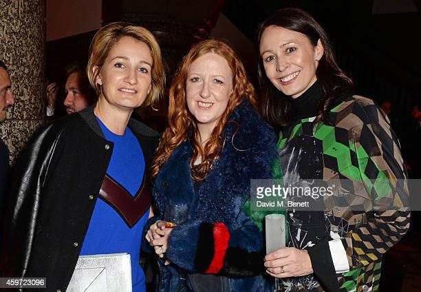 Zoe Jordan New Establishment Designer nominee Thea Bregazzi of Preen and British Fashion Council CEO Caroline Rush attend the British Fashion Awards...