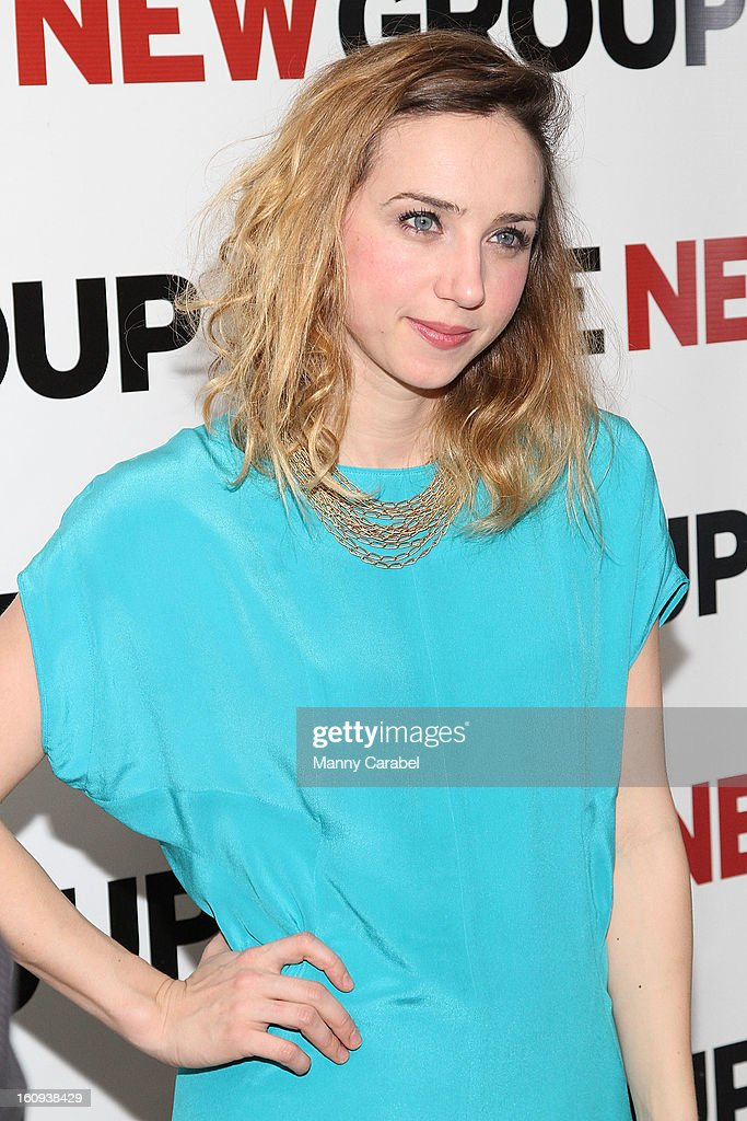<a gi-track='captionPersonalityLinkClicked' href=/galleries/search?phrase=Zoe+Kazan&family=editorial&specificpeople=3953779 ng-click='$event.stopPropagation()'>Zoe Kazan</a> attends the World Premiere of 'Clive' at West Bank Cafe on February 7, 2013 in New York City.