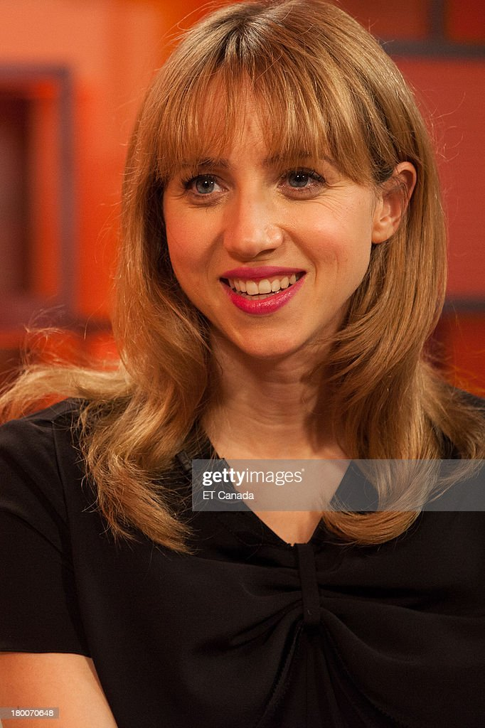 Zoe Kazan visits the ET Canada Festival Central Lounge at the 2013 Toronto International Film Festival on September 8, 2013 in Toronto, Canada.