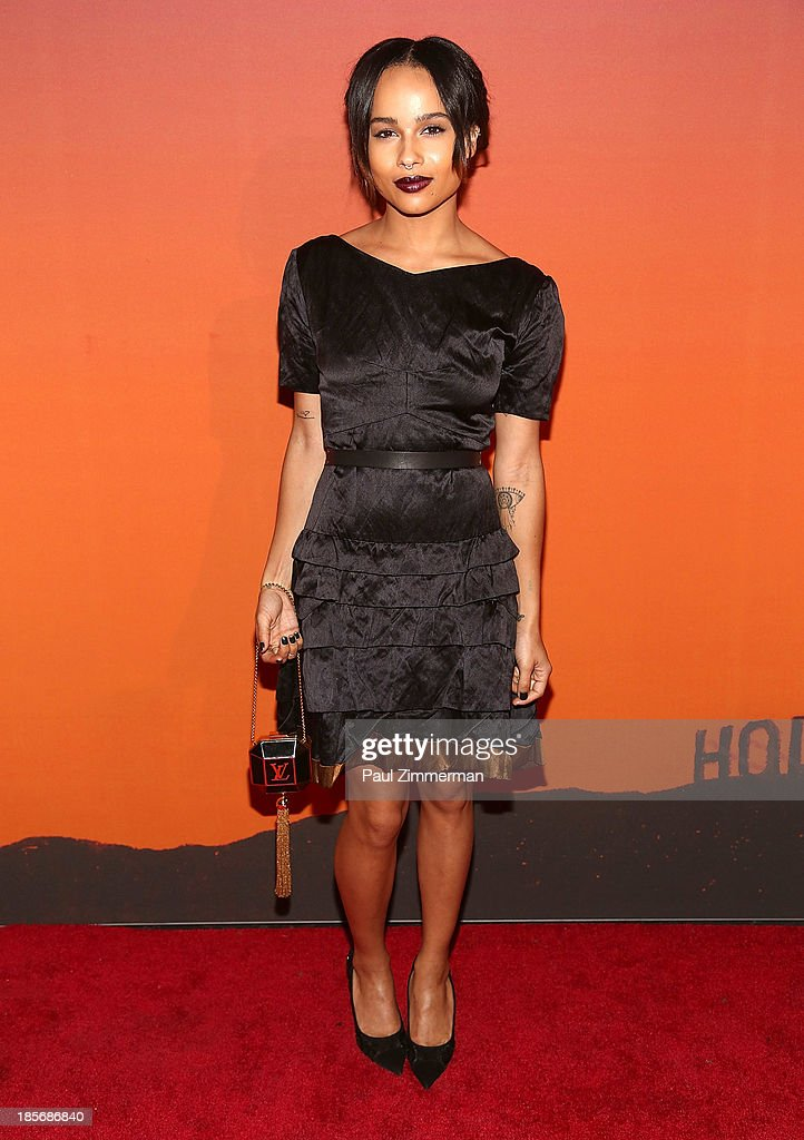 <a gi-track='captionPersonalityLinkClicked' href=/galleries/search?phrase=Zoe+Kravitz&family=editorial&specificpeople=680250 ng-click='$event.stopPropagation()'>Zoe Kravitz</a> arrives at the 2013 Whitney Gala and Studio Party at Skylight at Moynihan Station on October 23, 2013 in New York City.
