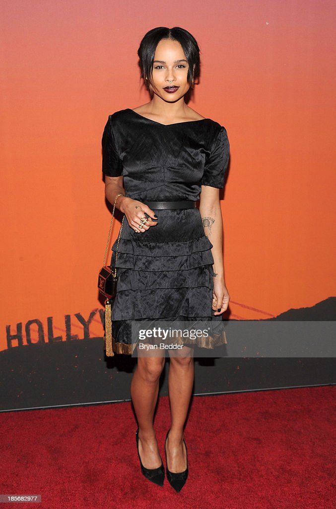 <a gi-track='captionPersonalityLinkClicked' href=/galleries/search?phrase=Zoe+Kravitz&family=editorial&specificpeople=680250 ng-click='$event.stopPropagation()'>Zoe Kravitz</a> arrives for the Whitney Museum of American Art Gala & Studio Party 2013 Supported By Louis Vuitton at Skylight at Moynihan Station on October 23, 2013 in New York City.