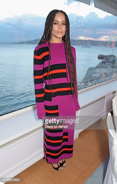 Zoe Kravitz attends as Charles Finch hosts his annual Filmmakers Dinner and photographic exhibition in celebration of 'The Art Of Behind The Scenes'...