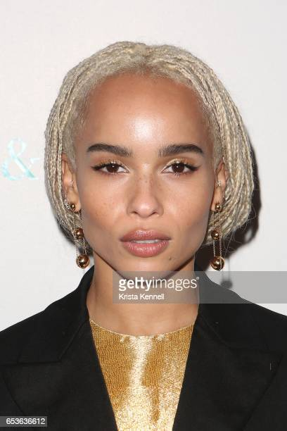 Zoe Kravitz attends the 2017 Whitney Biennial at The Whitney Museum of American Art on March 15 2017 in New York City