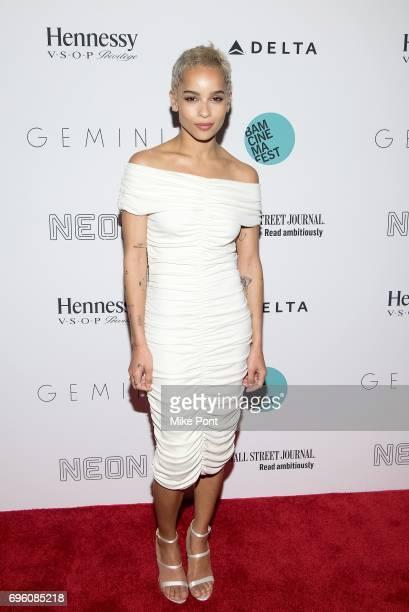 Zoe Kravitz attends the BAMcinemaFest 2017 Opening Night Premiere of 'Gemini' at BAM Harvey Theater on June 14 2017 in New York City
