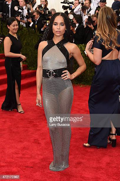 Zoe Kravitz attends the 'China Through The Looking Glass' Costume Institute Benefit Gala at the Metropolitan Museum of Art on May 4 2015 in New York...