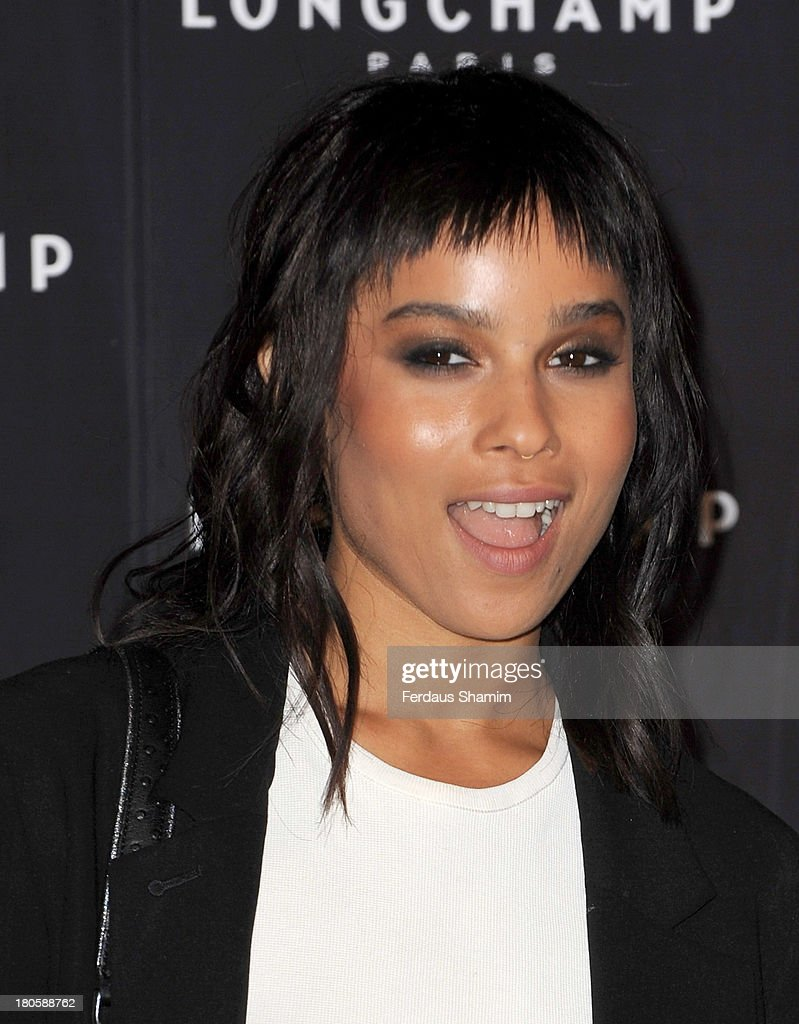 <a gi-track='captionPersonalityLinkClicked' href=/galleries/search?phrase=Zoe+Kravitz&family=editorial&specificpeople=680250 ng-click='$event.stopPropagation()'>Zoe Kravitz</a> attends the grand opening party of Longchamp Regent Street at Longchamp on September 14, 2013 in London, England.