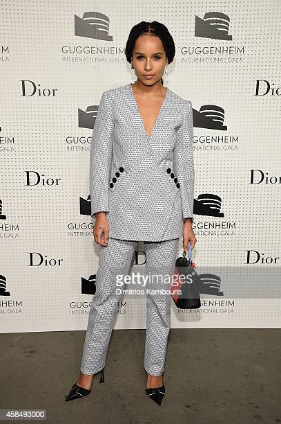 Zoe Kravitz attends the Guggenheim International Gala PreParty made possible by Dior on November 5 2014 in New York City