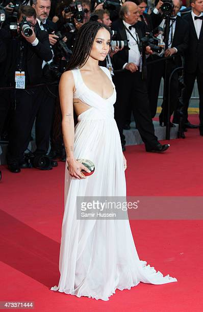 Zoe Kravitz attends the 'Mad Max Fury Road' Premiere during the 68th annual Cannes Film Festival on May 14 2015 in Cannes France