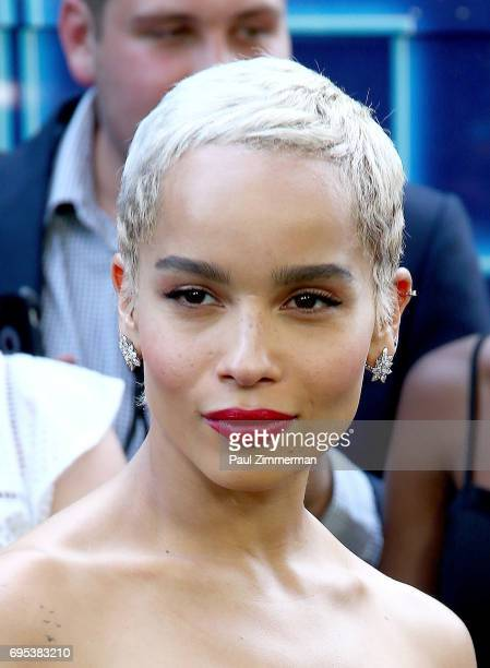Zoe Kravitz attends the 'Rough Night' New York Premiere on June 12 2017 in New York City