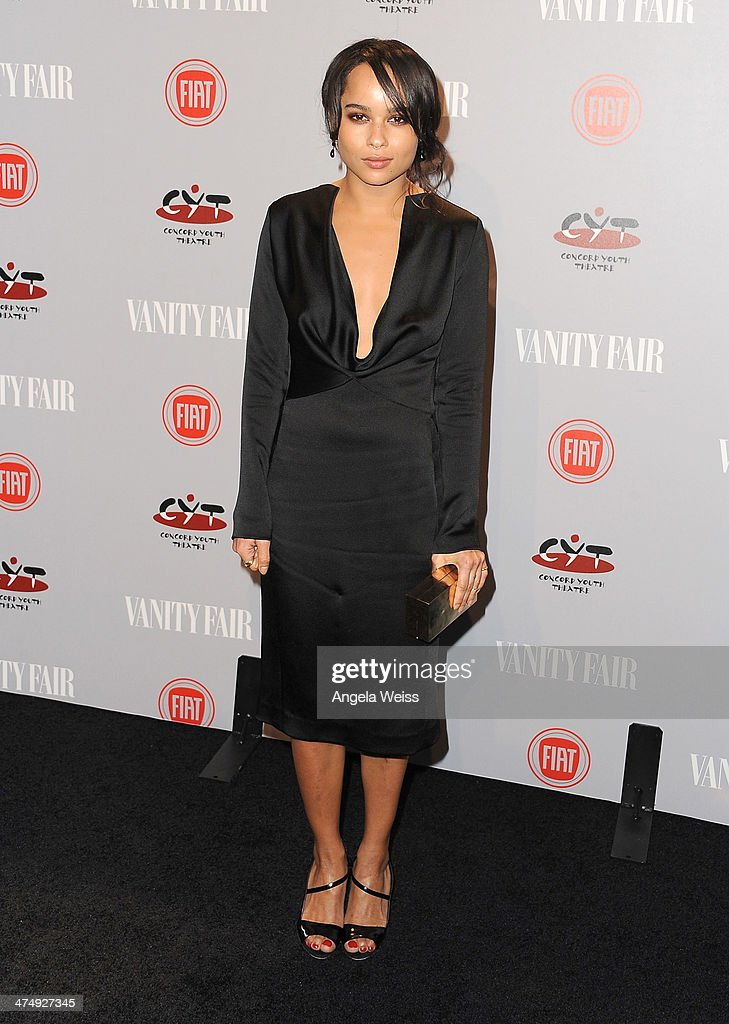 <a gi-track='captionPersonalityLinkClicked' href=/galleries/search?phrase=Zoe+Kravitz&family=editorial&specificpeople=680250 ng-click='$event.stopPropagation()'>Zoe Kravitz</a> attends the Vanity Fair Campaign Hollywood 'Young Hollywood' party sponsored by Fiat at No Vacancy on February 25, 2014 in Los Angeles, California.
