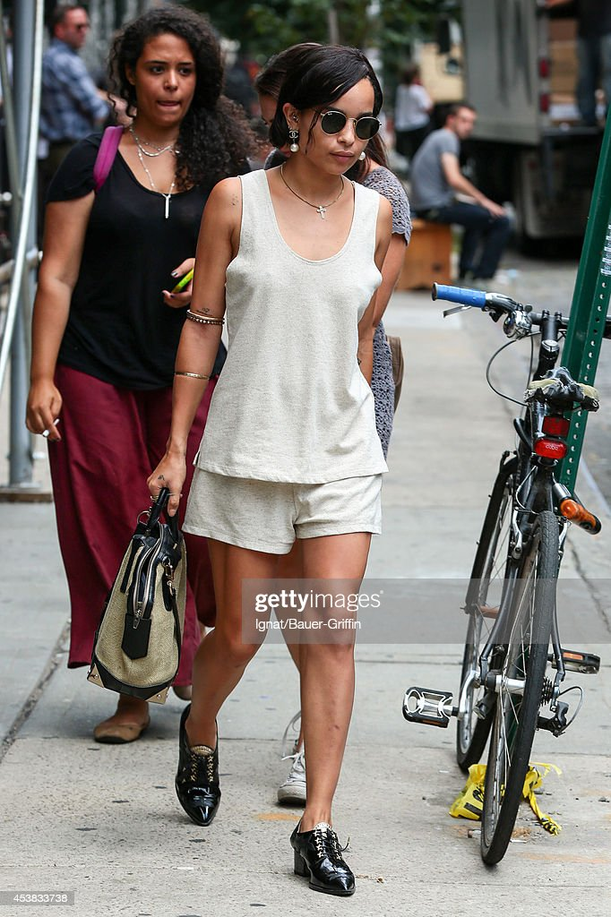 <a gi-track='captionPersonalityLinkClicked' href=/galleries/search?phrase=Zoe+Kravitz&family=editorial&specificpeople=680250 ng-click='$event.stopPropagation()'>Zoe Kravitz</a> is seen on August 19, 2014 in New York City.