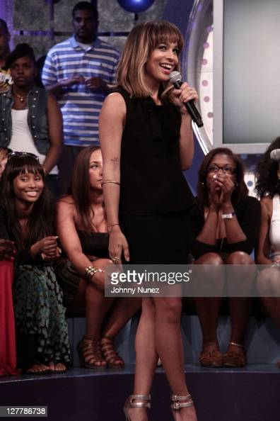 Zoe Kravitz visits BET's '106 Park' at BET Studios on June 2 2011 in New York City