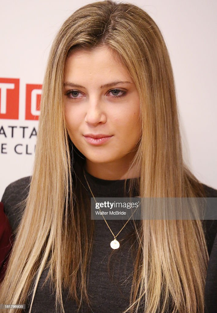 <a gi-track='captionPersonalityLinkClicked' href=/galleries/search?phrase=Zoe+Levin&family=editorial&specificpeople=10130764 ng-click='$event.stopPropagation()'>Zoe Levin</a> attending the Meet & Greet for the MTC Production of 'The Commons of Pensacola' at the Manhattan Theatre Club Rehearsal Studios on September 25, 2013 in New York City.