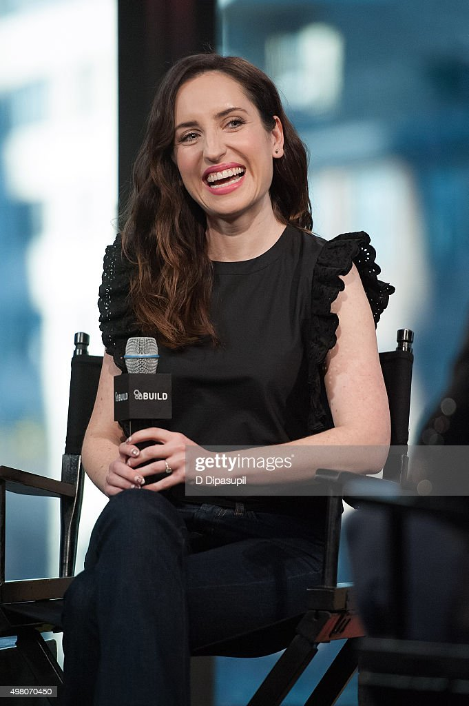 Zoe Lister Jones attends AOL BUILD Series: 'Consumed' at AOL Studios In New York on November 20, 2015 in New York City.