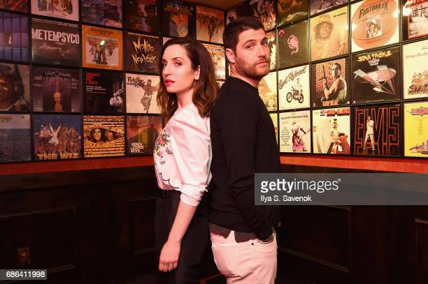 Zoe ListerJones and Adam Pally attend the Band Aid screening at Alamo Drafthouse Theater during Vulture Festival on May 21 2017 in New York City