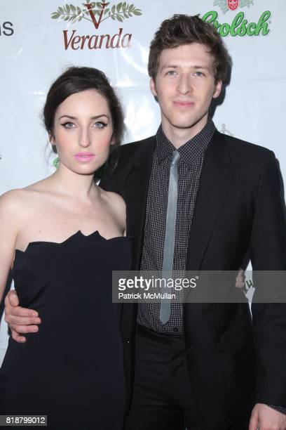 Zoe ListerJones and Daryl Wein attend IFC FILMS Presents the New York Premiere of BREAKING UPWARDS at IFC Film Center on April 1 2010 in New York City
