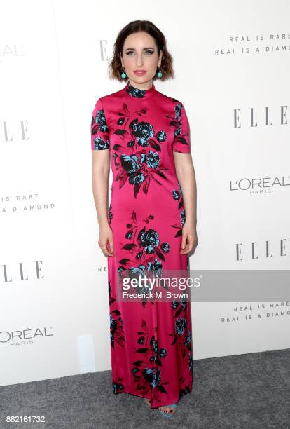 Zoe ListerJones attends ELLE's 24th Annual Women in Hollywood Celebration at Four Seasons Hotel Los Angeles at Beverly Hills on October 16 2017 in...