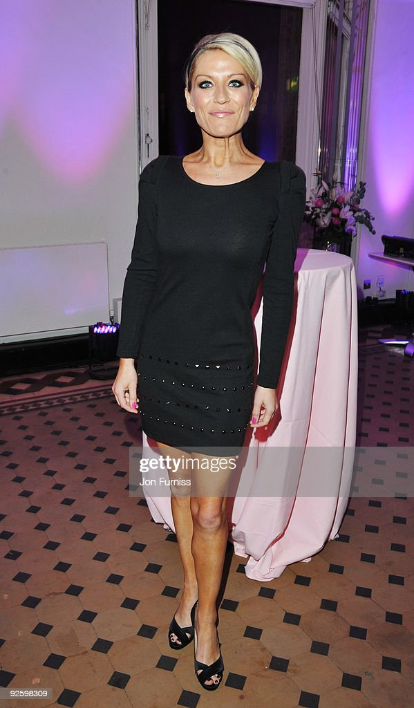 Zoe Lucker attends the PINKTOBER Women Of Rock Charity Concert at the Royal Albert Hall on November 1 2009 in London England