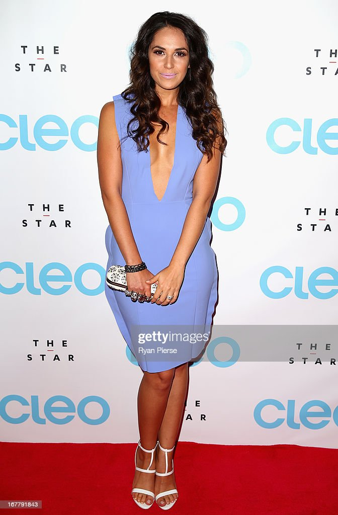 Zoe Marshall arrives at the CLEO magazine relaunch party at The Star on April 30, 2013 in Sydney, Australia.