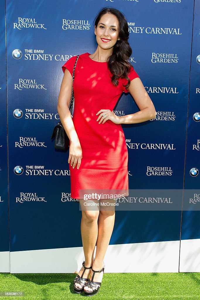 Zoe Marshall at the BMW Sydney Carnival launch at Centennial Park on March 12, 2013 in Sydney, Australia.