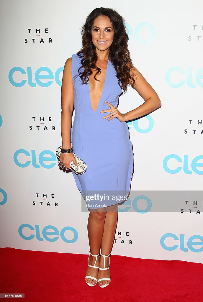Zoe Marshall attends the CLEO magazine relaunch party at The Star on April 30, 2013 in Sydney, Australia.