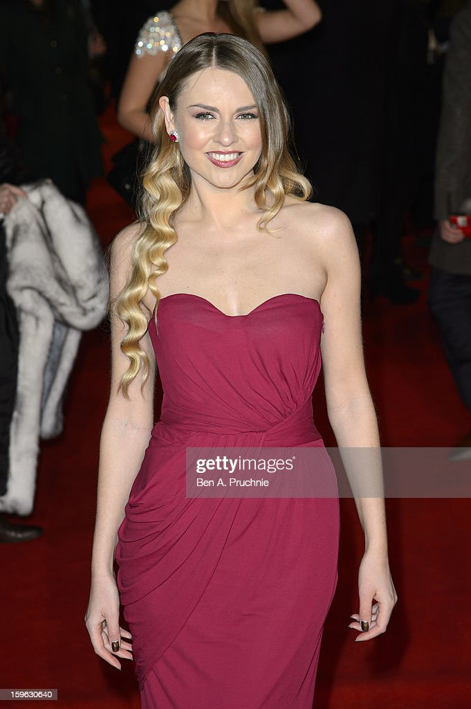 Zoe Salmon attends the UK Premiere of 'Flight' at The Empire Cinema on January 17, 2013 in London, England.