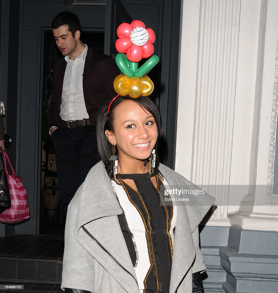 Barry the Dog Fitness Trainer Reception - Sightings In London - March 26, 2013