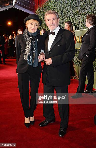 Zoe Wanamaker and Gawn Grainger arrive at The London Evening Standard Theatre Awards in partnership with The Ivy at The Old Vic Theatre on November...