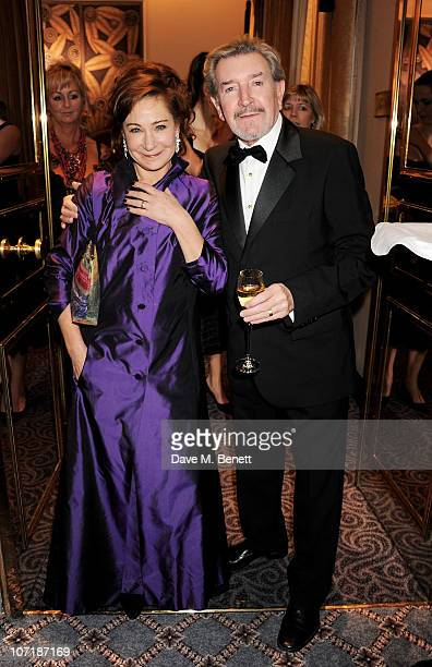 Zoe Wanamaker and Gawn Grainger attend the London Evening Standard Theatre Awards at The Savoy Hotel on November 28 2010 in London England