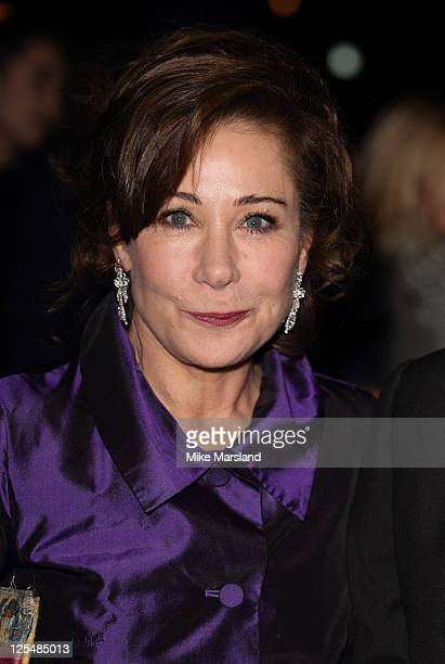 Zoe Wanamaker attends London Evening Standard Theatre Awards at The Savoy Hotel on November 28 2010 in London England